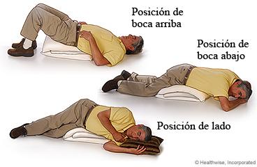 El drenatge postural és una manera d'ajudar a tractar els problemes respiratoris deguts a unflor i massa mucositat en les vies respiratòries dels pulmons.